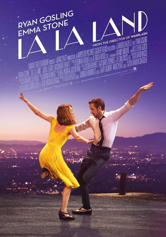 14 Nominations, including Best Picture, Best Director (Chazelle), Best Actor (Ryan Gosling) and Best Actress (Emma Stone).