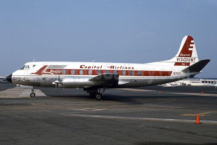 Capital Airlines Vickers Viscount 797 N7471