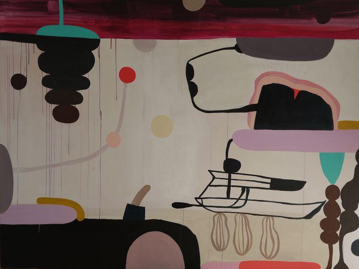 painting by Marina Pagh