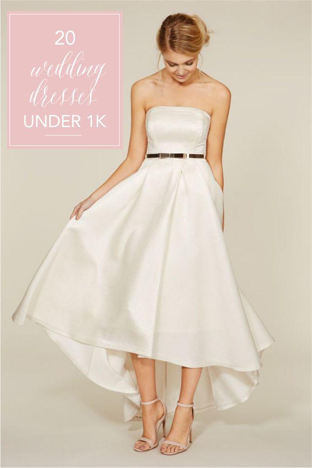 20 Stylish Budget Wedding Dresses Under £1000
