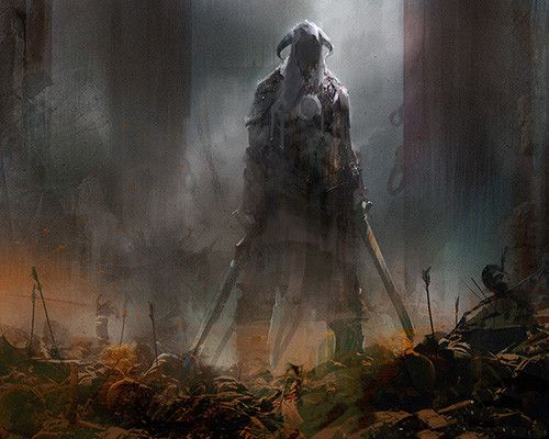 ArtStation - pitch work for skyrim commercial, richard anderson
