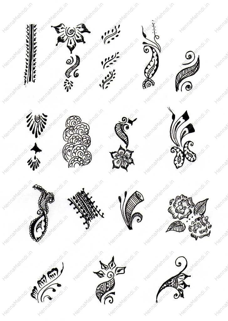 Easy Tattoo Designs | Freestyle Finger Mehndi Patterns and Fillings | Henna Mehndi Designs