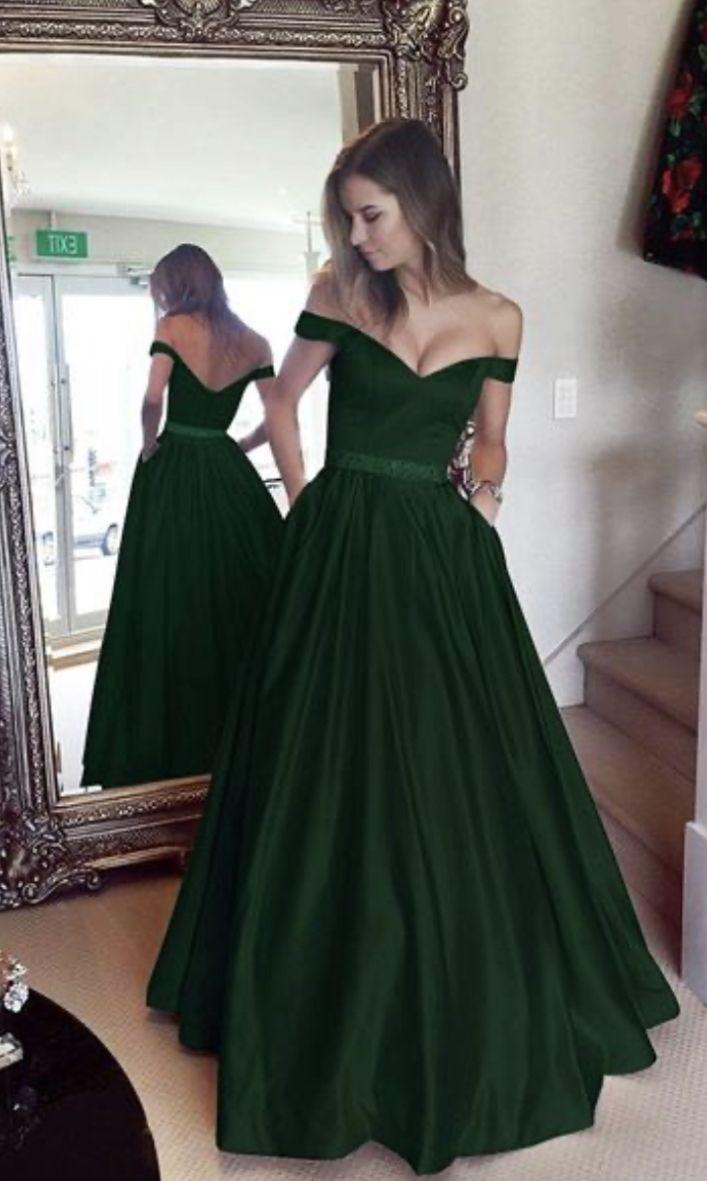 emerald green prom dress   Green prom dress, Emerald green prom ...
