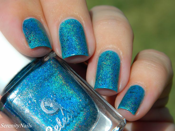 Ocean of Crystals swatched by @sere