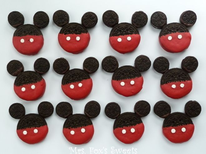 Best 25 Mickey Mouse Desserts Ideas Only On Pinterest