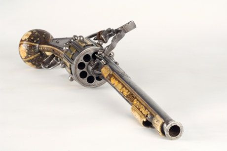 世界最古のリボルバー02