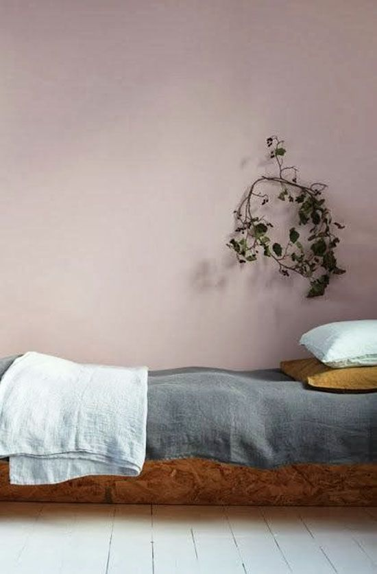 Red Colour Wall: Best 25+ Dusty Pink Bedroom Ideas On Pinterest