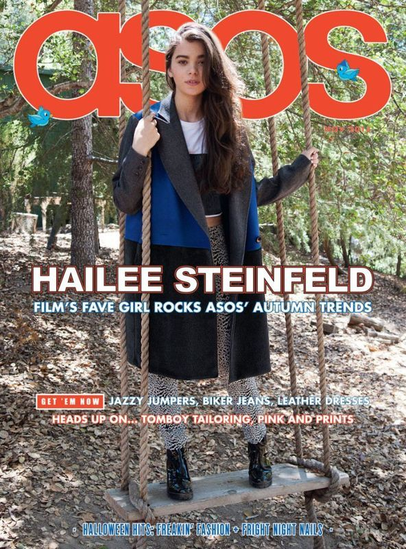 #ASOS November 2013 Hailee Steinfeld by Michael Hauptman: 2013 Issues, Fashion Style, Asos November, Covers, November 2013, Asos Magazines, Haile Steinfeld, Hail Steinfeld, Magazines November