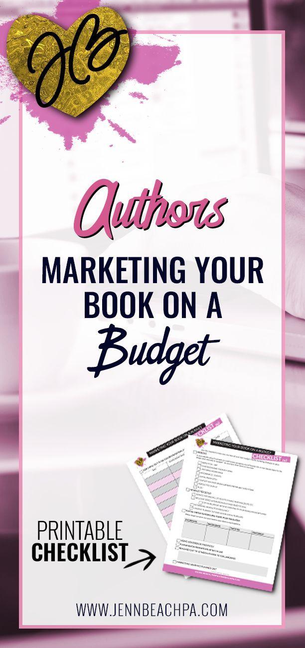 #authors Marketing your book on budget #bookmarketing #marketing