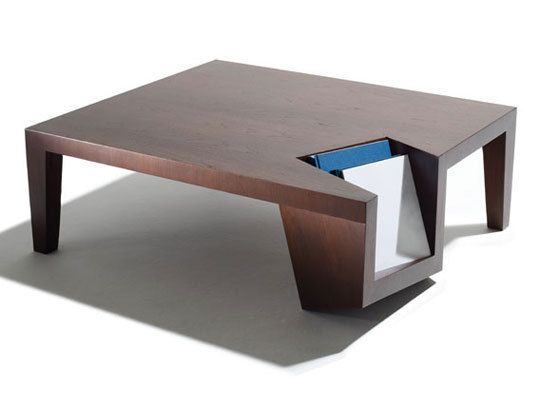 High Quality Clever Coffee Table Incorporates Book And Magazine Storage By San Francisco  Designer Dylan Gold