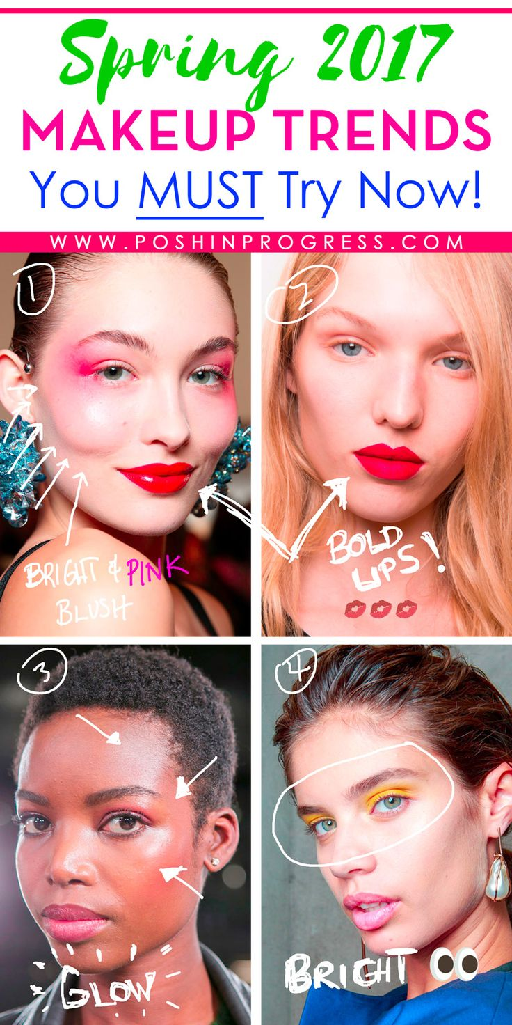 Have you seen these cool makeup looks?