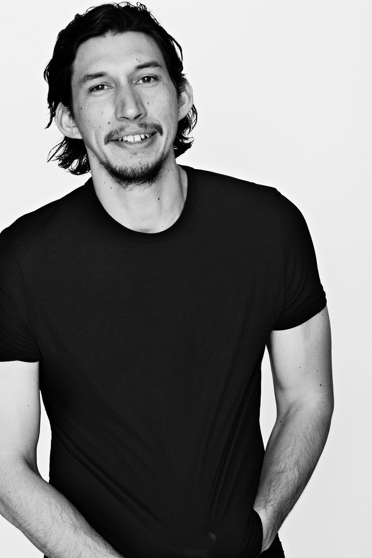 Adam Driver for iD Magazine, photographed by Bruno Staub
