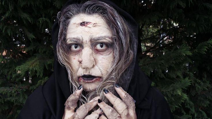 Kara Cadı Shtriga | Cadılar Bayramı Makyajı