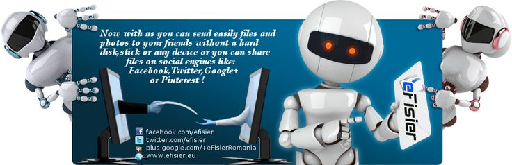 Now it`s easy to send files and photos to friends... #hosting  #filesharing  #friends  #efisier  #sendfiles  #freeservices   www.efisier.eu