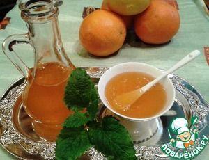 Апельсиново-лимонный сироп