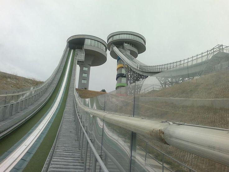 Erzurum Kiremitliktepe Kayakla Atlama Kuleleri1 - Erzurum - Vikipedi