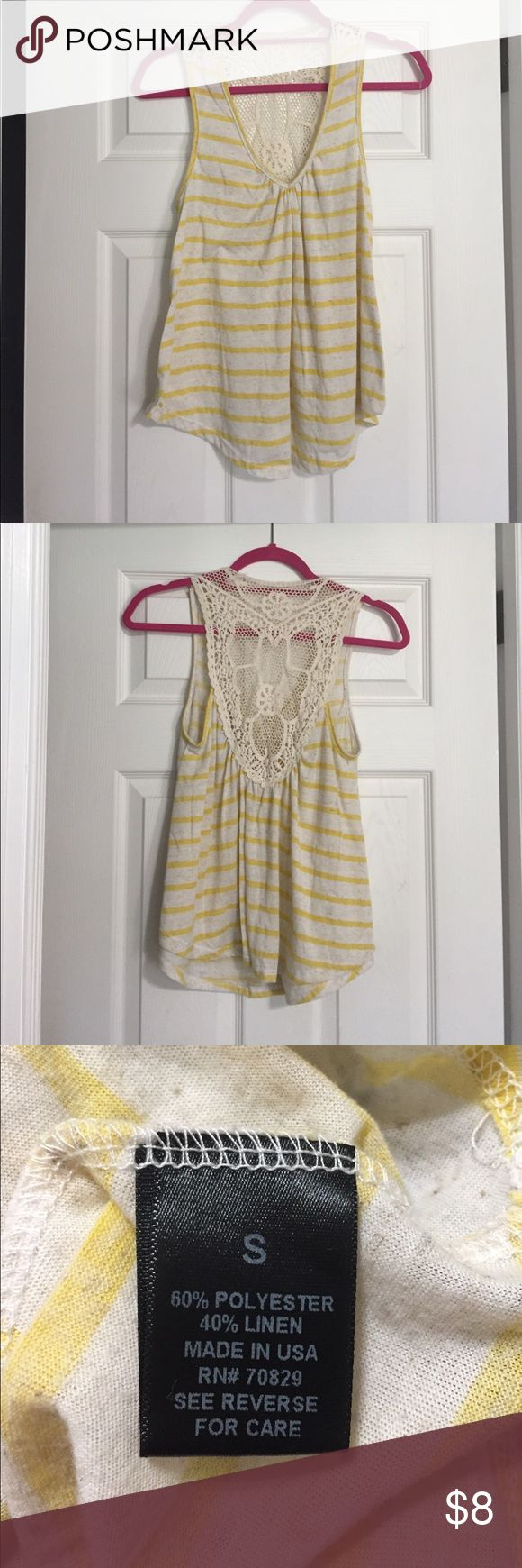 Shirt Bundle! All worn a couple of times, good condition. Buy all 3 together for $10 or comment for different Bundle/single item options. Yellow stripe and floral shirt both purchased from kohls. Mint chevron shirt purchased from rue 21. Floral is an XS but fits like a small. All others are smalls Tops Tank Tops
