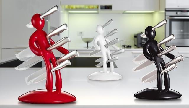 kuchenny stojak na noże