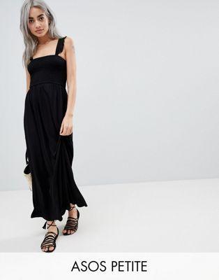 50b1d3b89103a DESIGN Petite Ruffle Strap Shirred Maxi Sundress | / Bridesmaid ...