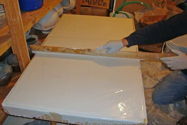 Making Wedging table and Clay Recycling Plaster Boards   Tips and Tutorial