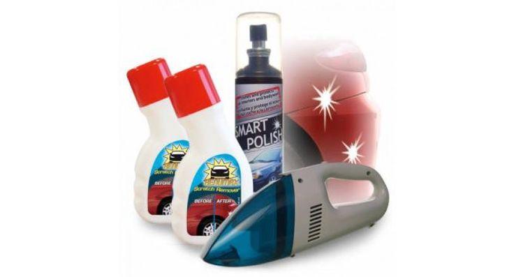 Verwijder moeiteloos de diepste krassen en strepen! Je auto zal ongezien blinken!