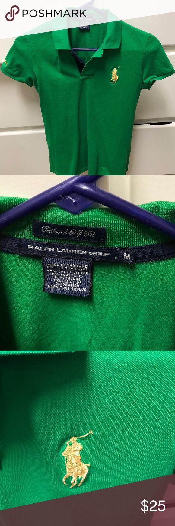 Ralph Lauren women's Golf shirt Beautiful Kelly green women's golf shirt Ralph Lauren Tops Tees - Short Sleeve