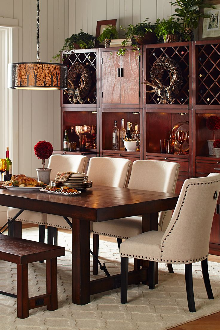 Stick With The Natural Classics For A Sophisticated Thanksgiving  Gatheringu2014like Pier 1u0027s Customizable Harvey · Chairs For Dining TableDining  ...