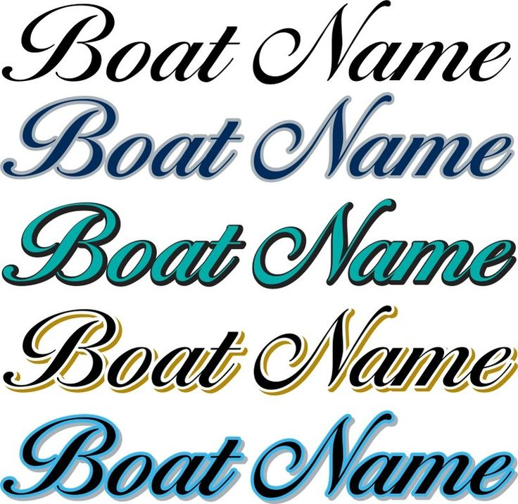 Custom Vinyl Decals - Custom Law Sticks, Boat Numbers, Boat Names, Fish, and…