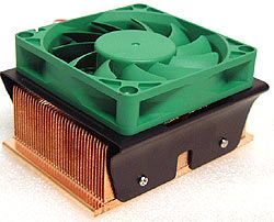 Dynatron DC1207BMX Copper Pentium4 Heatsink Review - FrostyTech.com