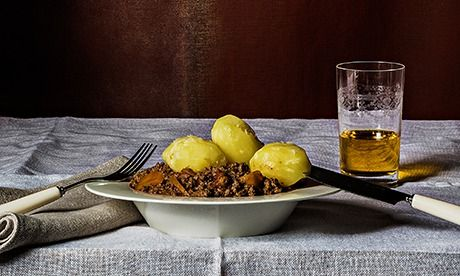 Mince and Tatties. Photograph: Romas Foord