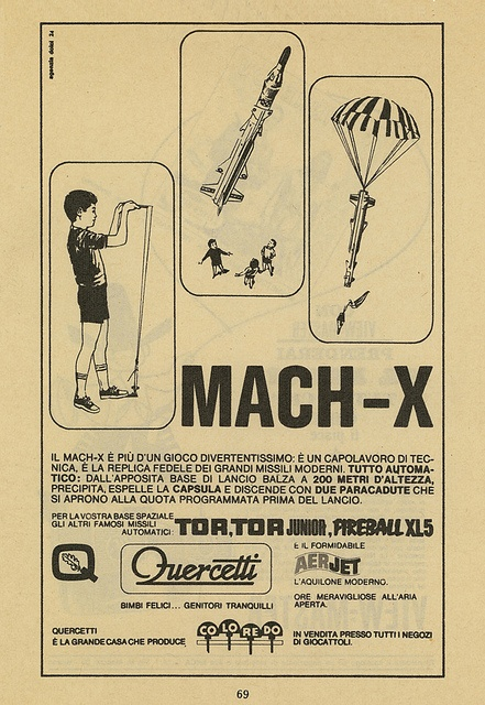 Mach-X, via Flickr. #Quercetti adv