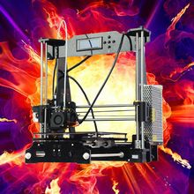 2016 promotion Education Personal FDM prusa I3 3d printer for Children Teaching new upgarded desktop high percision
