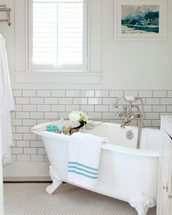 How To Install Bathroom Tile In Corners Bathroom Tile: 17 Best Images About Fixer Upper Bathroom On Pinterest