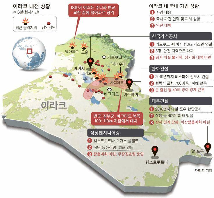 공사현장 13㎞ 앞 교전 … 기업들, 방탄차·경호원 배치 - 중앙일보 뉴스