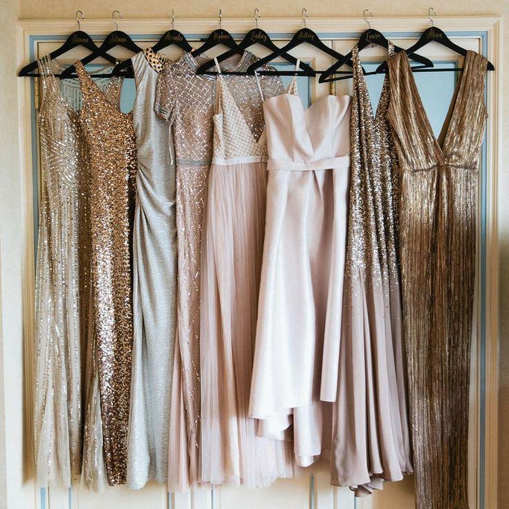 Mix & match outfit bruidsmeisjes