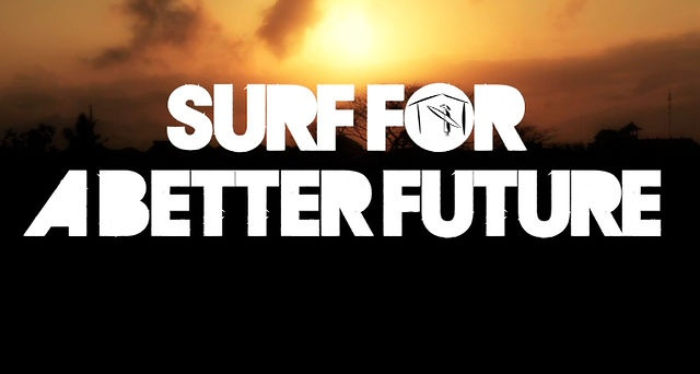 Surfing for a better future for the children of Bali and a sustainable island. That's soul surf project Bali.