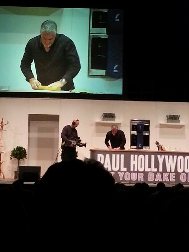 Paul Hollywood.  Get your bake on live