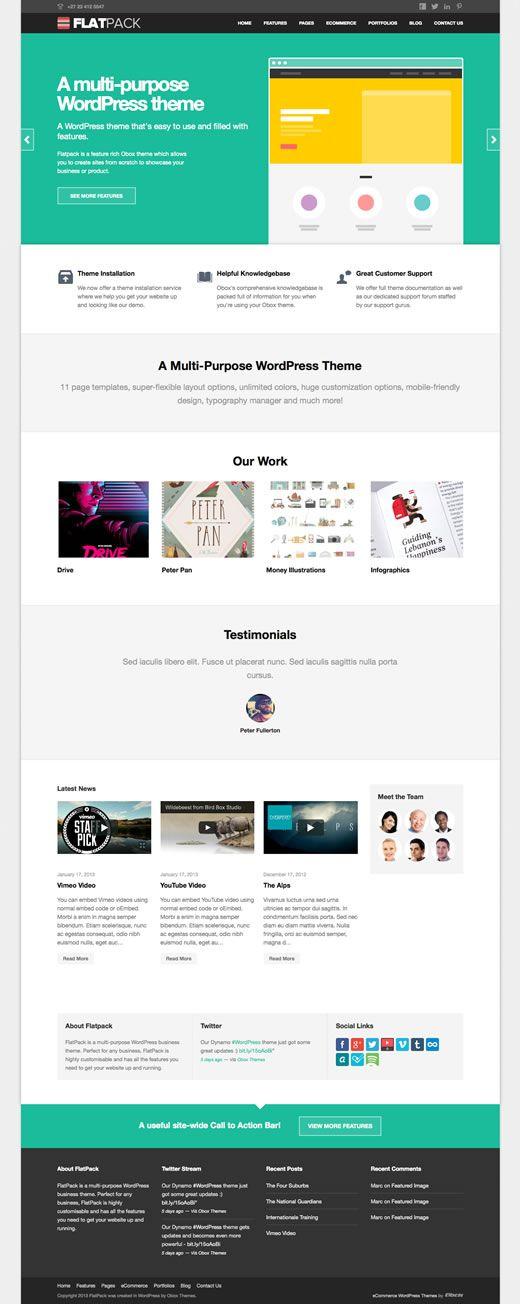 WordPress multi-purpose theme