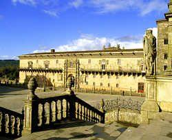 Parador de los Reyes Católicos, Santiago de Compostela, Galicia, España