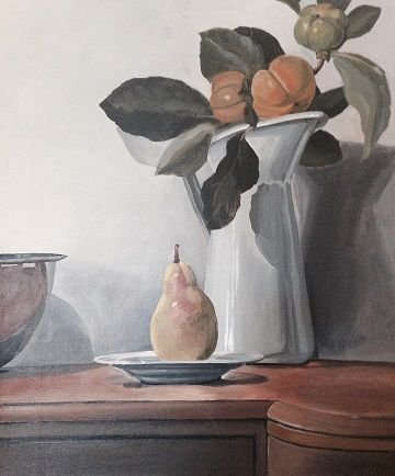 Pear and Persimmons