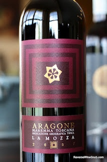 La Mozza Aragone Maremma Toscana 2007 - Deeply Smooth and Deliciozo!