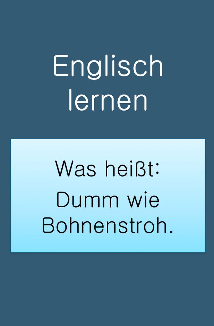 Deutsche Sprichwörter auf Englisch in 2020 | Deutsche
