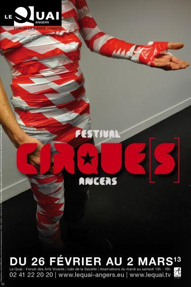 Projet 2 affiche festival Cirque[s] - Le Quai - Angers