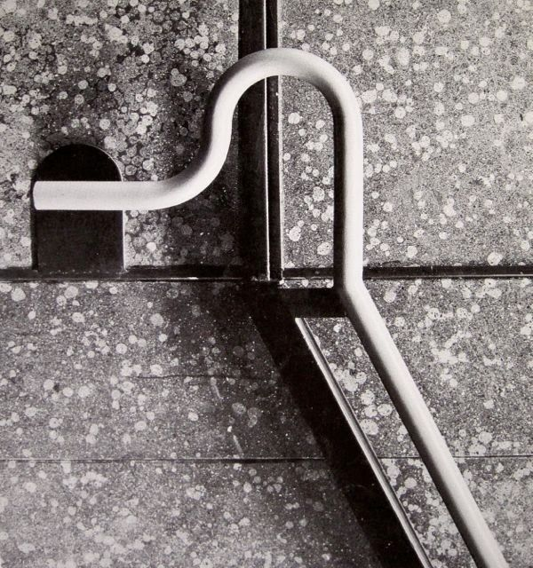 Franco Albini, Handle for the stairs of the Metro in Milano. 1962-64