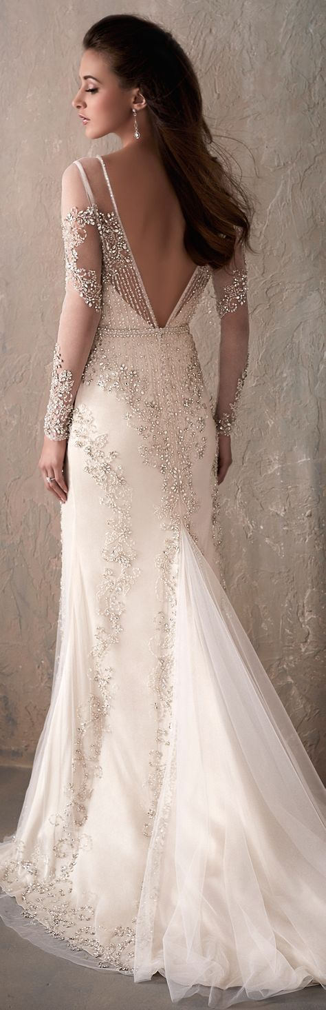 Wedding Dress by Adrianna Papell Platinum