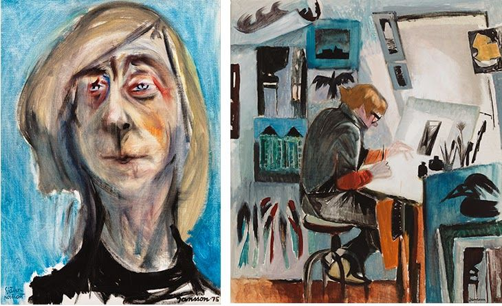 Tove Jansson, 'Self Portrait', 1975