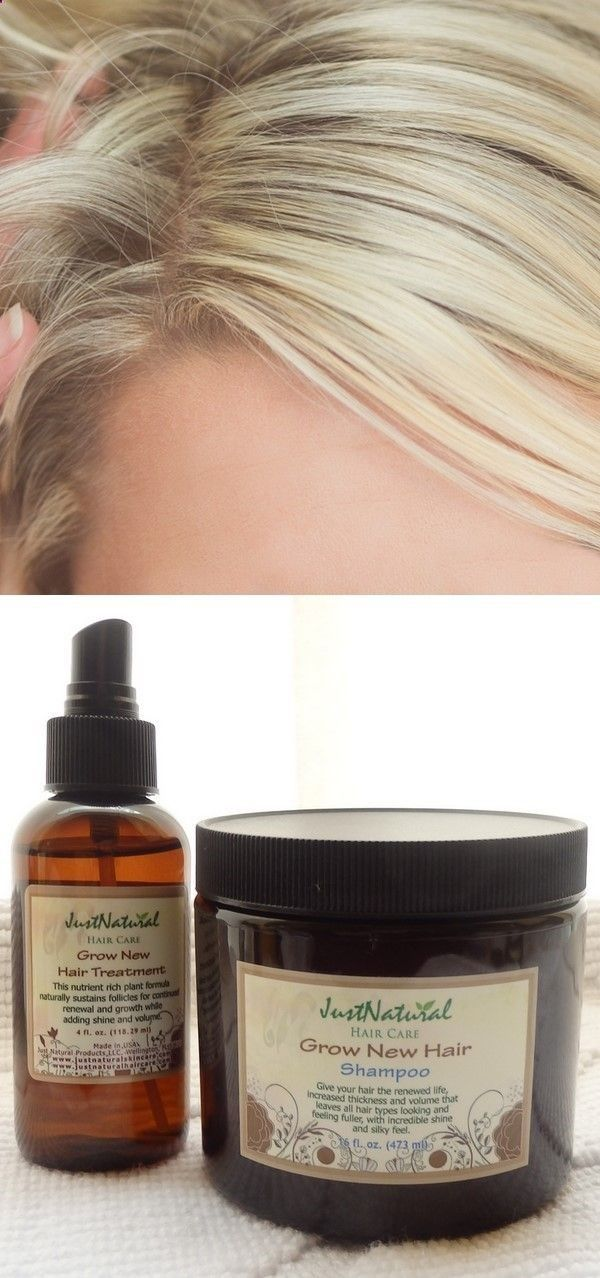 Grow New Hair ShampooGrow New Hair TreatmentBald Spot TreatmentHair Loss Sham