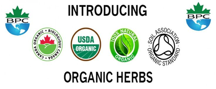 Buy premium quality #ORGANIC_HERBS in Canada and USA. Our herbs are trusted for their medicinal values, quality and freshness. We proud to carry organic herbs and spices which are hand-selected from the finest harvests each season.
