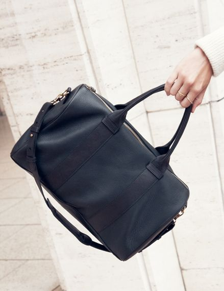 Sezane for Madewell Collection satchel #style #fashion #bags #daintyrings