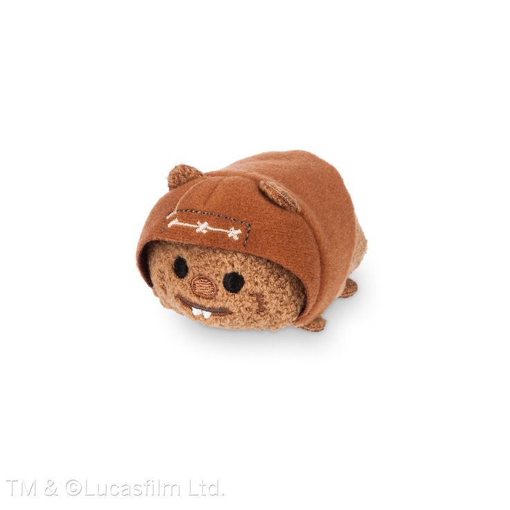 Mini Wicket (Ewok) Tsum Tsum from the Star Wars Collection. If I get any tsum tsum  it would  be  this one